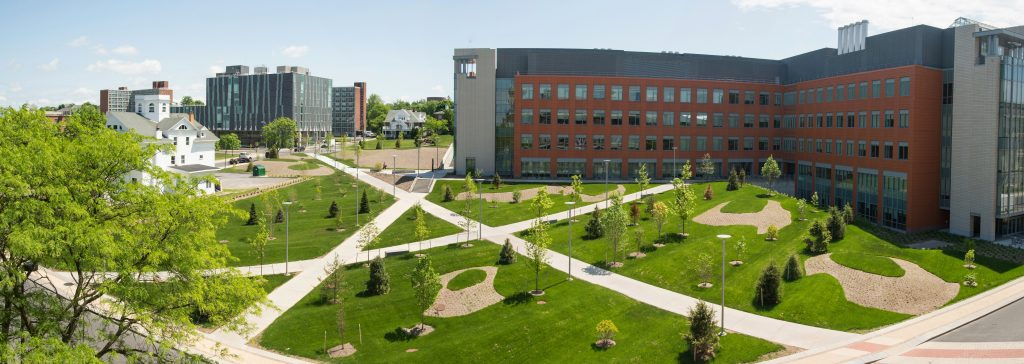 The Life Sciences Complex is home to the Biotechnology department at Syracuse University.