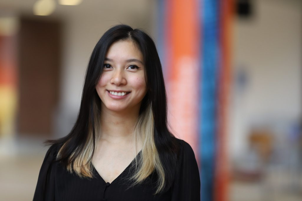 Computer Engineering major Dana Chea '21.